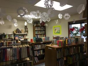 Snowflakes in Book Corner